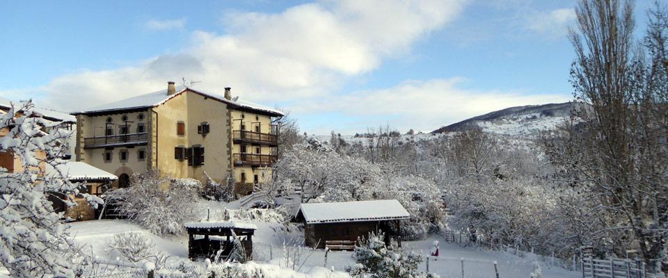 Casa rural Monaut Pirineo Navarro