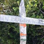 ruta al Larrogain
