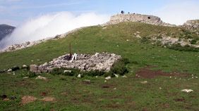 Torre romana de Urkulu en Irati