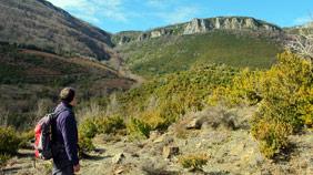 Subiendo a Monte Larrogain