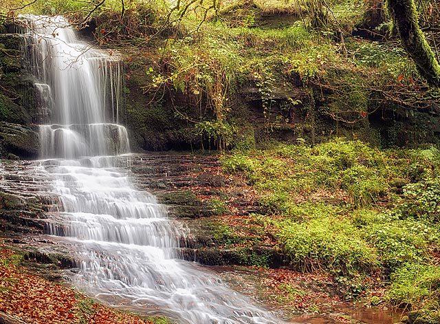 Cascada de Irurrekaeta ©Patxeti Martínez