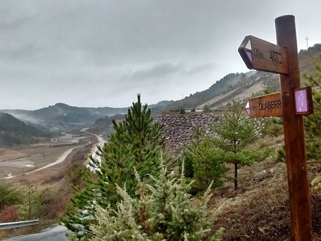 Calzada romana del Pirineo por Arce